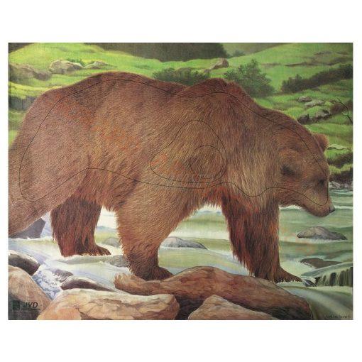 JVD - Medve lőlap