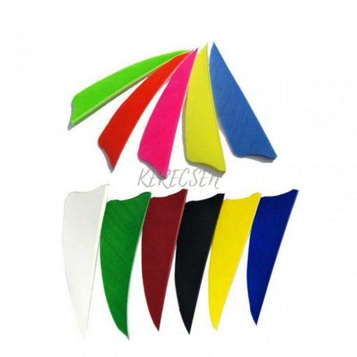 Turkey feather 3″ Shield