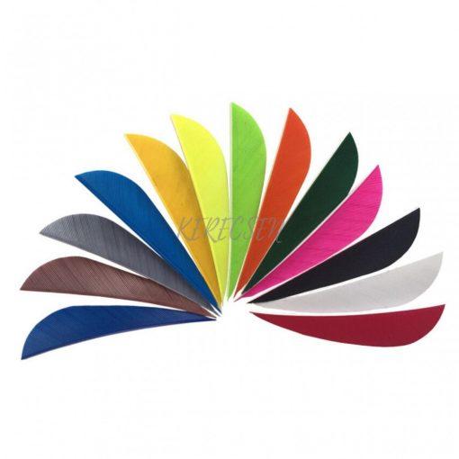 Turkey feather 4″ Parabola