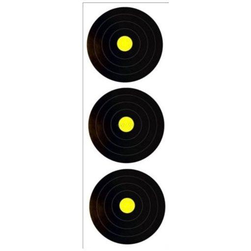 WA terep – 3 x 20 cm (szemafor 40-es közép) lőlap